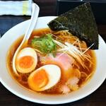麺家 雅 - 料理写真:鶏中華そば+味玉