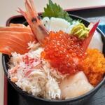 オホーツクバザール 直営レストラン - 海鮮丼
