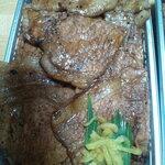 ぶた福 - ミックス並 960円 + 肉超大盛 330円