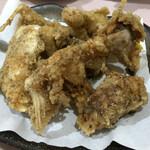 居酒屋 アバシ庵 - 料理写真:ハリセンボンの唐揚げ