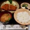 とんかつ いけだ - 料理写真:ロースカツ定食(ランチ1000円)