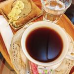 三井寺力餅本家 - コーヒー(力餅1本付き)