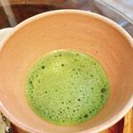 三井寺力餅本家 - 抹茶