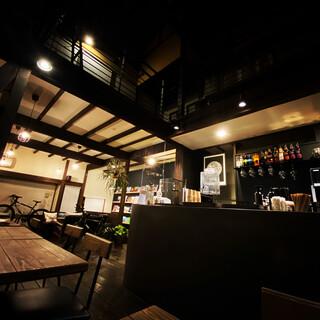 築100年の古民家を活かしたリノベーションカフェ
