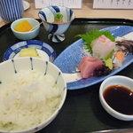 割烹むつごろう - ☆まずはこの状態でお膳が出てきましたぁ(^o^)/後で天ぷらが登場致します☆