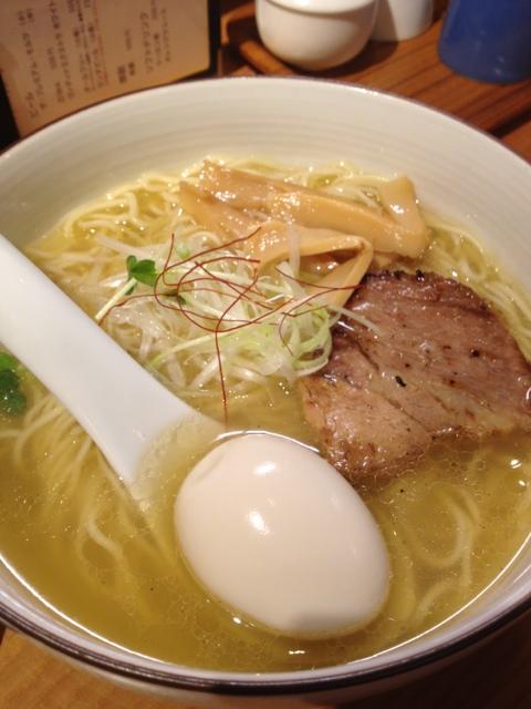 麺やひだまり - 味玉塩らぁ麺(780円)