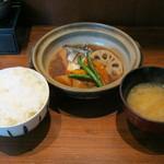 手しおごはん 玄 - 2012/07/14の【ランチ】とろさばの煮付け定食です。
