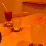 13860638 - 紫蘇ソーダ柚子ジュース