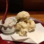 138605987 - マッシュルームの天ぷら