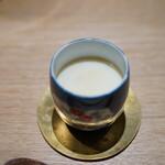 霜止出苗 - 毛蟹の茶碗蒸し