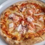 13861052 - シーフードピザ