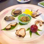 割烹の宿 美鈴 - 前菜 珍味盛り
