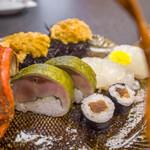 割烹の宿 美鈴 - 鯖寿司/伊勢海老寿司