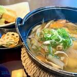 三南 - 料理写真:だご汁定食