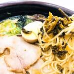うまか軒 - 料理写真:高菜ラーメン