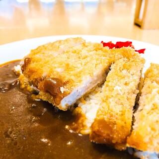 宮原サービスエリア上り線スナックコーナー - 料理写真:カツカレー