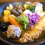 spice&cafe SidMid - 料理写真:秋を愉しむ贅沢スープカレー膳