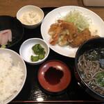 Tamoya - よくばり定食580円