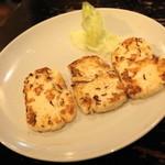Bistro ひつじや - 2012.7 ひつじのチーズ(680円)キプロス産ハルーミチーズ