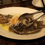 Bistro ひつじや - 2012.7 マトウダイのガーリックオーブン焼き(2,400円)
