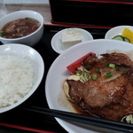 香味屋 - 料理写真:生姜焼き定食