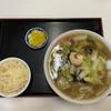 明華園 - 料理写真:広東麺+ミニ炒飯 1100円です