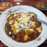 まつもと食堂 - 料理写真:マーボーライス(ごはん少なめ)