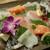 博多 魚宴 - 料理写真:お造り3種盛り