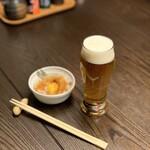 焼鳥 若竹 - 東京クラフト 樽生(グラス)