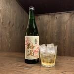 焼鳥 若竹 - 高清水梅酒 日本酒仕込み