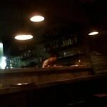 13863874 - 夜、待合い席から見た厨房の景色です