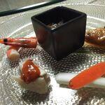 Chuugokukyoudoryourikinri - 1.前菜6種盛合せ