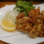 旬菜と海鮮 森田屋 - 若鶏唐あげ
