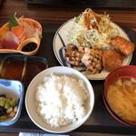 ファミリー和食処 笑食 - 料理写真:笑食ランチ