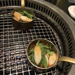 焼肉 喰心 - 焼きすき用野菜たち