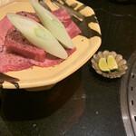 焼肉 喰心 - 牛タン すだちか塩かタレお好みで