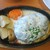 大衆イタリアン屋台 ブドウヤ - 料理写真:チーズハンバーグ