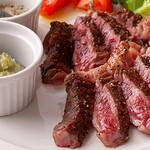 3世代で楽しめるイタリアン 「キッチンmatsui」 - 最高ランクA5 黒毛和牛のステーキ
