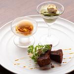 3世代で楽しめるイタリアン 「キッチンmatsui」 - デザート盛合せ