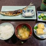138636678 - さんま塩焼き定食