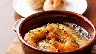 3世代で楽しめるイタリアン 「キッチンmatsui」 - 天使の海老アヒージョ