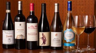 3世代で楽しめるイタリアン 「キッチンmatsui」 - ワイン(集合)