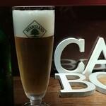 地中海食堂BOCA - ハートランドsmallサイズ(グラスに入れた後)