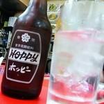 中国料理 黒龍 - ホッピーセット(ナカの量が多いね♪)