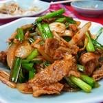 中国料理 黒龍 - 豚キムチ炒め¥650→¥500