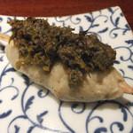 喜郷 - 料理写真:ふき味噌そばがき田楽