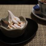 婆娑羅 - 黒糖のソフトクリーム