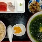 かぶさ食堂 - 料理写真:島アーサー代