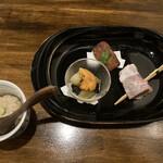 いわ瀬 - 前菜