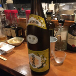 おでん屋 あじと - 日本酒